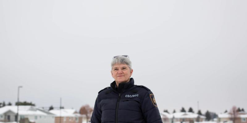 Carol Link travaille au Pénitencier de la Saskatchewan, à Prince Albert, depuis 25 ans.
